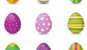immagine uova colorate